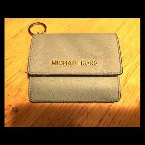 Michael Kors Travel Wallet & Keychain - Blue